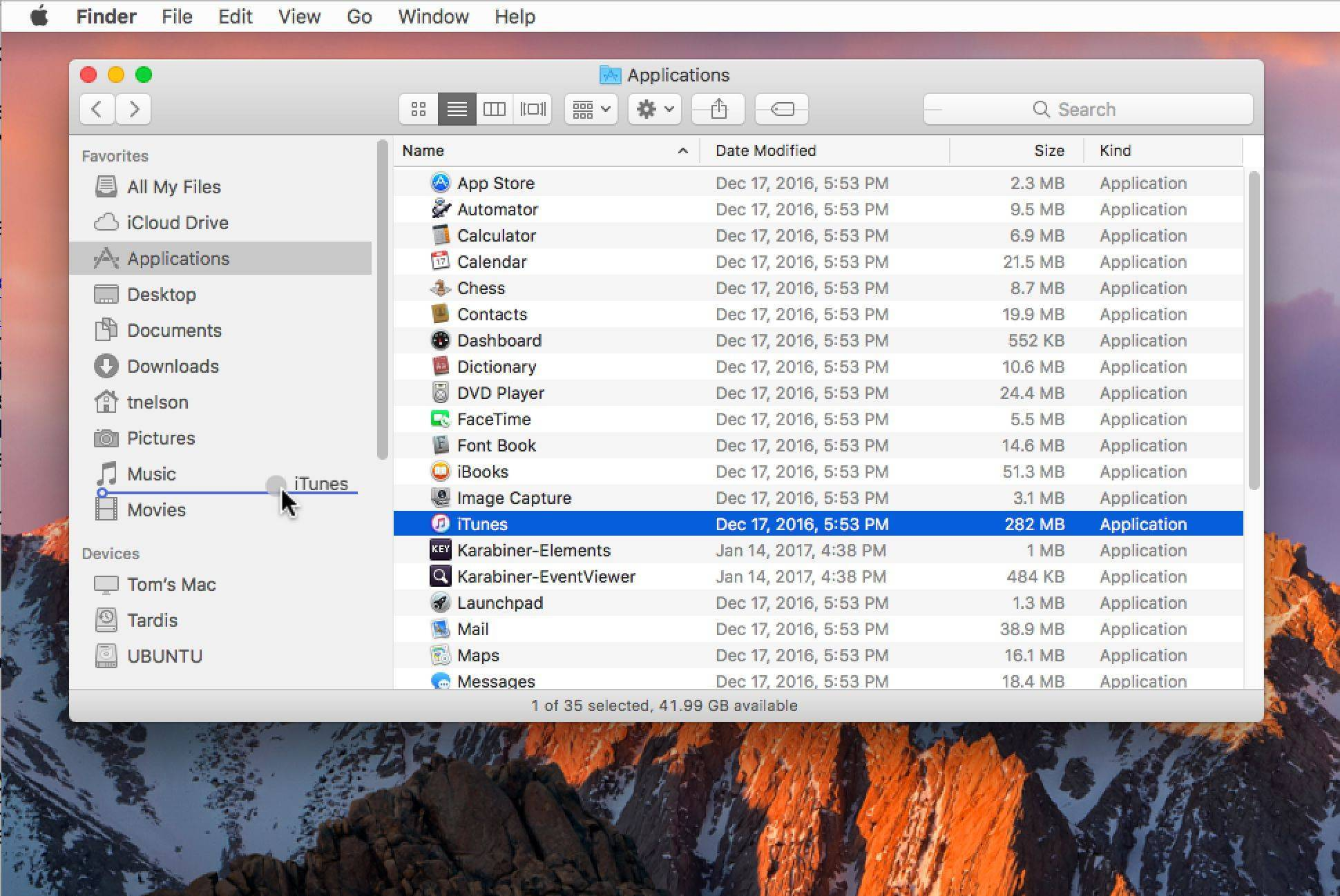 How to modify the mac finder sidebar